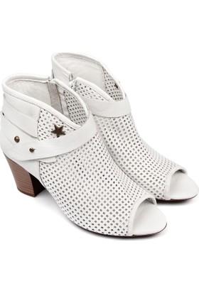 Gön Deri Kadın Ayakkabı 03218