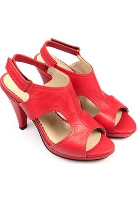 Gön Deri Kadın Sandalet 05577
