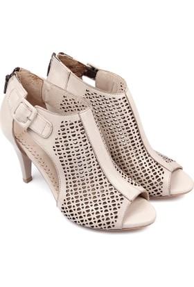 Gön Deri Kadın Sandalet 05853