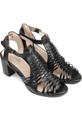 Gön Deri Kadın Sandalet 05980