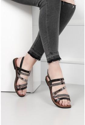 Gön Deri Kadın Sandalet 35023