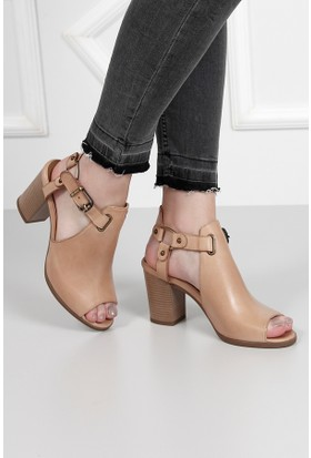 Gön Deri Kadın Sandalet 35126