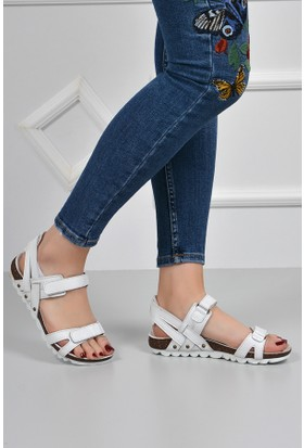 Gön Deri Kadın Sandalet 41301