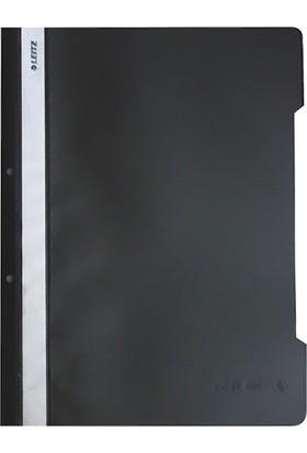 Leitz 4189 Plastik Telli Dosya 50'li Renk - Siyah