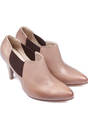 Gön Deri Kadın Ayakkabı 03013