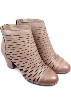 Gön Deri Kadın Ayakkabı 03158
