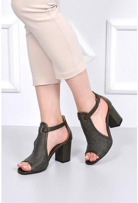 Gön Deri Kadın Ayakkabı 16068