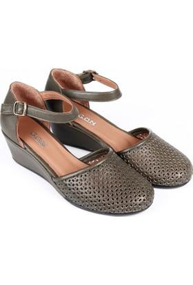 Gön Deri Kadın Ayakkabı 16186