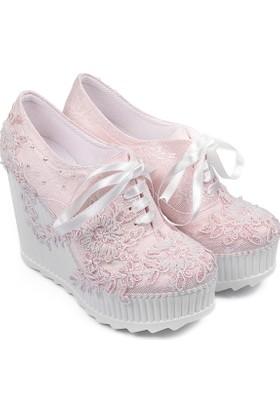 Gön Kadın Gelinlik Ayakkabı 45610