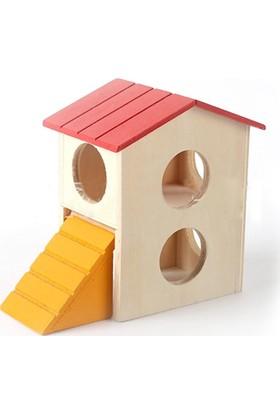 Carno Hamster Evi Ahşap No 115 16 x 11 x 14,5Cm