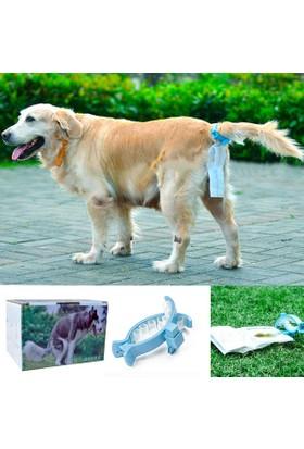 Köpek Kuyruğa Takılan Dışkı Toplama Mandalı (20 Ad Torbalı)