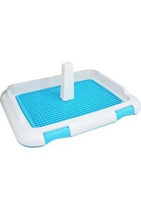 Diil Köpek Tuvalet Eğitim Seti Mavi (46,5 x 36 x 22)