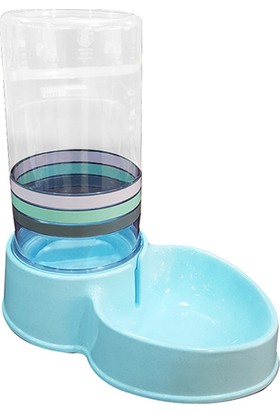 Diil Kedi Köpek Otomatik Su Kabı 8Lt Mavi 41,5 x 42 x 23Cm