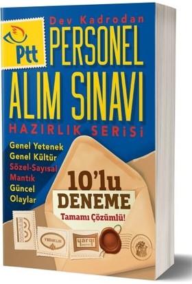 Benim Hocam Yayınları Ptt Personel Alım Sınavı Hazırlık Serisi Tamamı Çözümlü 10 Deneme