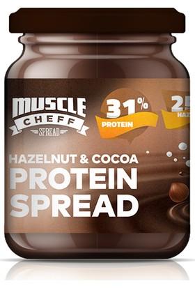 Muscle Cheff Yüksek Proteinli Kakaolu Fındık Ezmesi