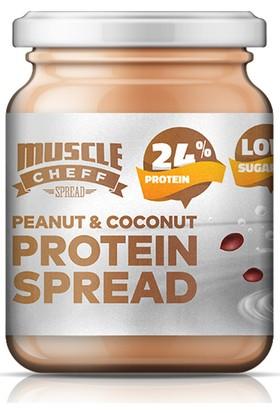 Muscle Cheff Yüksek Proteinli Hindistan Cevizli Fıstık Ezmesi