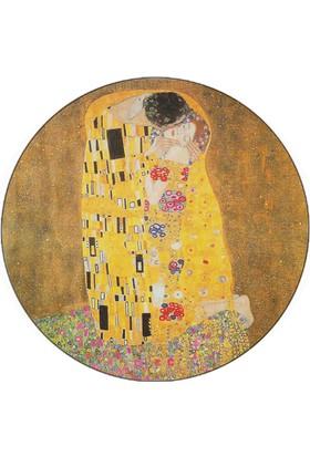 iF Dizayn Gustav Klimt Kiss Tablosu Mouse Pad