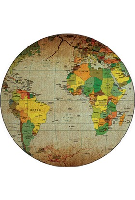 iF Dizayn Dünya Haritası Mouse Pad