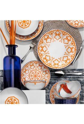 Kütahya Porselen 24 Parça 6 Kişilik Yemek Takımı