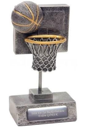 Tkn İsme Özel Basketbol Temalı Dekoratif Biblo ve Ödül