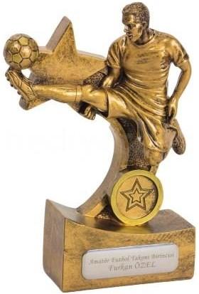 Tkn İsme Özel Futbolcu Temalı Dekoratif Biblo ve Ödül