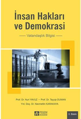 İnsan Hakları Ve Demokrasi - Vatandaşlık Bilgisi - Tayyip Duman - Nuri Yavuz - Necmettin Karakaya
