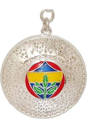 Ninova Silver Fenerbahçe Logolu Gümüş İsimli Anahtarlık Telkari