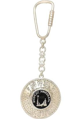 Ninova Silver Midyat Hatırası Logolu Telkari Gümüş Anahtarlık