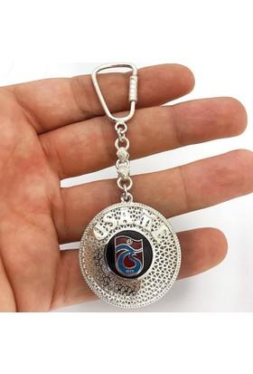 Ninova Silver Trabzonspor Logolu Gümüş İsimli Telkari Anahtarlık