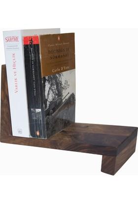 Woodsaka Kitap Rafı Masaüstü Raf
