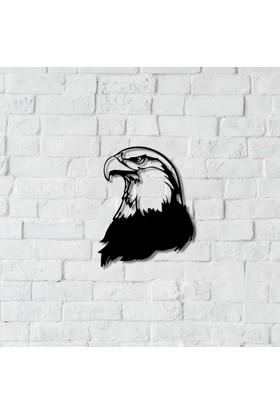 Dnz Eagle Metal Duvar Süsü