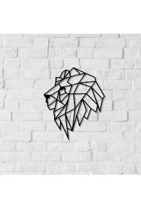 Dnz Lion Metal Duvar Süsü