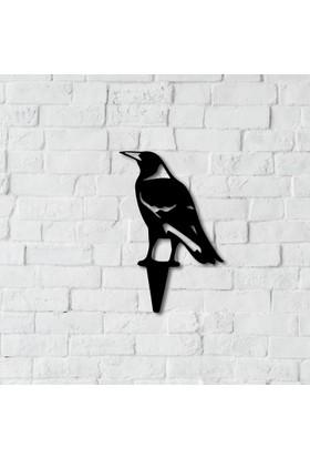 Dnz Raven Metal Duvar Süsü