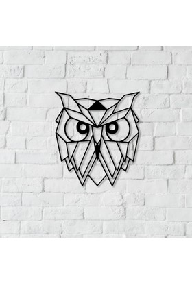 Dnz Owl Metal Duvar Süsü