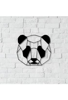 Dnz Panda Metal Duvar Süsü