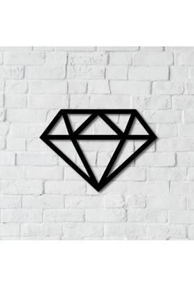Dnz Diamond Metal Duvar Süsü