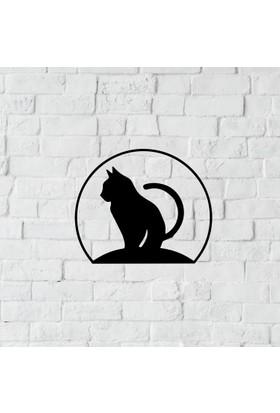 Dnz Cat Metal Duvar Süsü