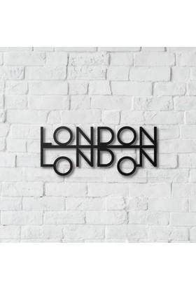 Dnz London London Metal Duvar Süsü