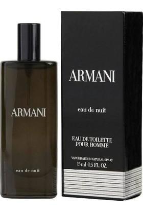 Emporio Armani Eau De Nuit Edt Erkek Parfümü 15 ml