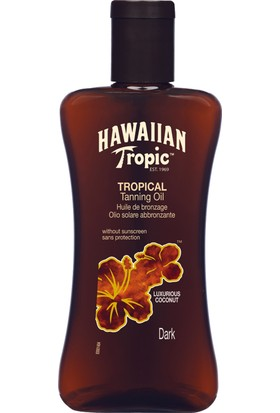 Hawaiian Tropic Yağ Coconut Spf0 200Ml