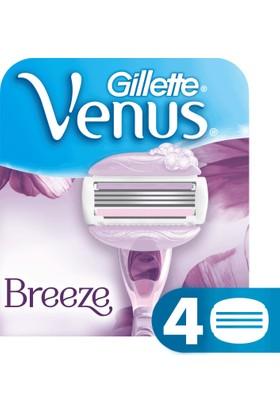 Gillette Venus Breeze Yedek Kadın Tıraş Bıçağı 4'lü