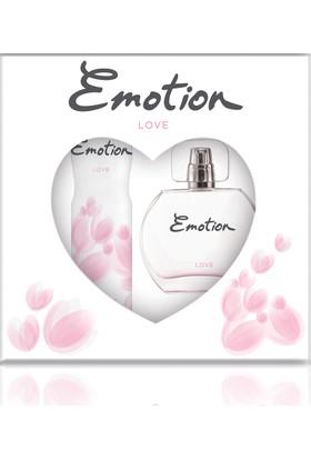 Emotion Love Parfüm 50 ml & Deodorant 150 ml