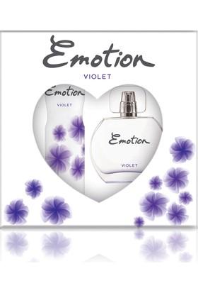 Emotion Violet Parfüm 50 ml & Deodorant 150 ml