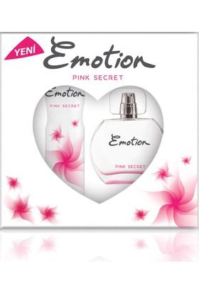 Emotion Pink Secret Parfüm 50ml & Deodorant 150ml