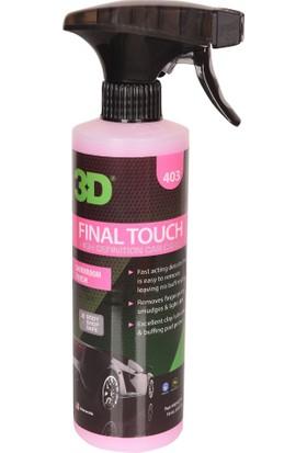 3D Final Touch - Quick Detailer- Hızlı Cila 473 ml. 403OZ16