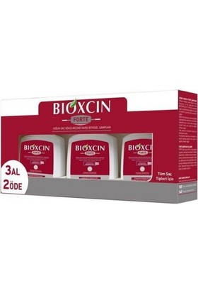 Bioxcin Forte Şampuan 300 ml 3 Al 2 Öde