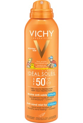 Vichy Ideal Soleil Anti-Sand Mist Children Spf50+ 200 ml