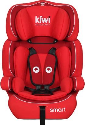 Kiwi Safe & Comfort Smart 9 - 36 kg Oto Koltuğu Kırmızı 006