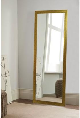Tablo Center 37x97cm Altın Varak Çerçeveli Boy Aynası