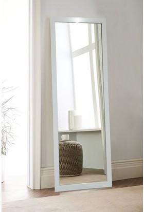 Tablo Center 37x97cm Beyaz Çerçeveli Boy Aynası